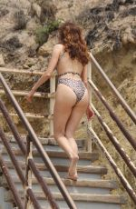 BLANCA BLANCO in Swimsuit at El Matador State Beach in Malibu 07/25/2018