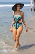 BLANCA BLANCO in Swimsuit on the Beach in Malibu 07/13/2018