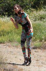 BLANCA BLANCO Out Hiking in Malibu 07/05/2018