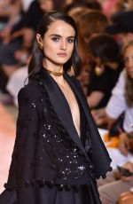 BLANCA PADILLA at Elie Saab Runway Show at Paris Fashion Week 07/04/2018