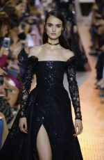 BLANCA PADILLA at Elie Saab Runway Show at Paris Fashion Week 07/04/2018