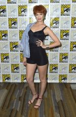 BREEDA WOOL at Van Helsing Panel at Comic-con in San Diego 07/19/2018
