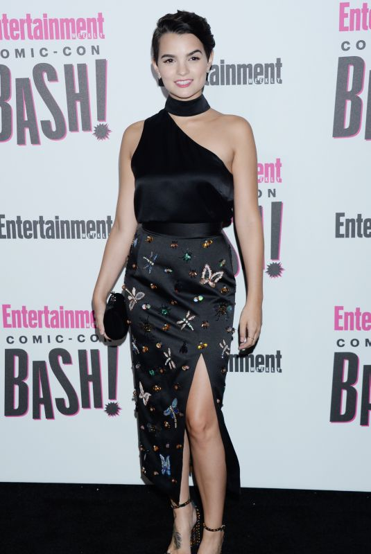 BRIANNA HILDEBRAND at Entertainment Weekly Party at Comic-con in San Diego 07/21/2018