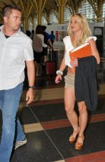 BRITNEY SPEARS at Reagan National Airport in Arlington 07/10/2018