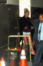 BRITNEY SPEARS Leaves Radio City Music Hall in New york 07/24/2018