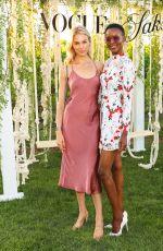 BRITT MAREN at Saks + Vogue Summer Celebration in New York 07/12/2018