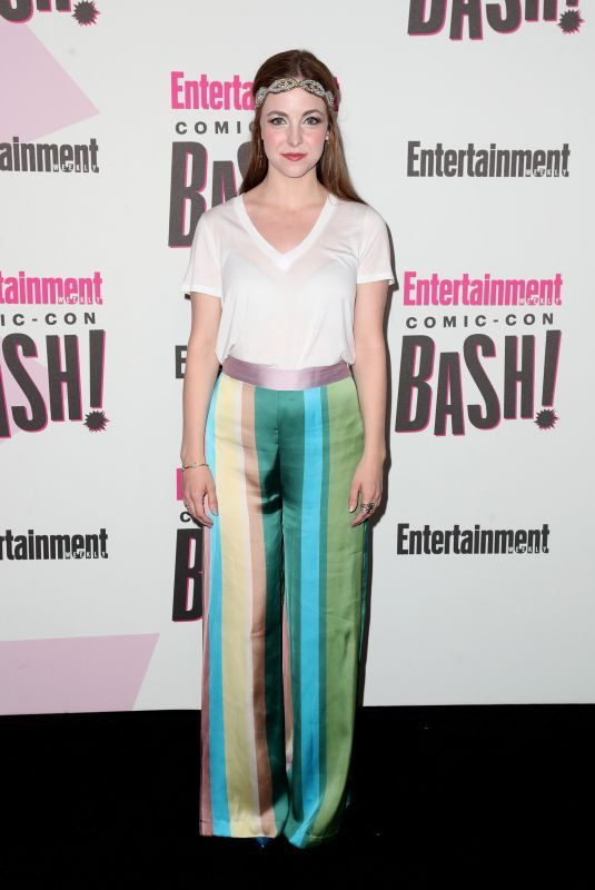 BRITTANY CURRAN at Entertainment Weekly Party at Comic-con in San Diego 07/21/2018