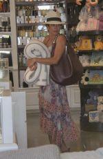 BROOKE BURKE Shopping at Malibu Colony Company in Malibu 07/07/2018