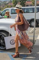 BROOKE BURKE Shopping at Malibu Colony Company in Malibu 07/07/2018