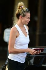 BROOKE BURNS Out and About in Los Angeles 07/19/2018