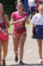 BROOKE VINCENT at Race for Life at Heaton Park in Manchester 04/17/2018