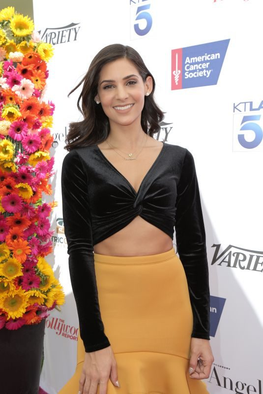 CAMILA BANUS at American Cancer Society's California Spirit 33 Gourmet Garden Party in Culver City 07/15/2018