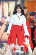 CAMILA CABELLO Performs at Good Morning America Summer Concert Series in New York 07/19/2018