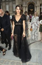 CAMILA COELHO at Valentino Show at 2018 Haute Couture Fashion Week in Paris 07/04/2018