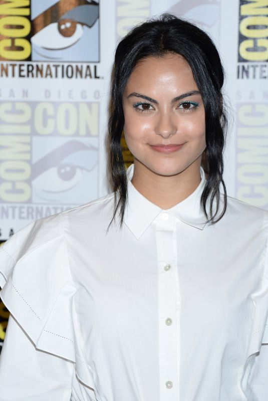 CAMILA MENDES at Riverdale Photo Line at Comic-con in San Diego 07/21/2018