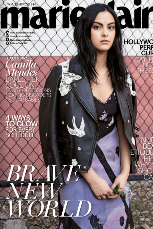 CAMILA MENDES for Marie Claire Malaysia, June 2018 Issue