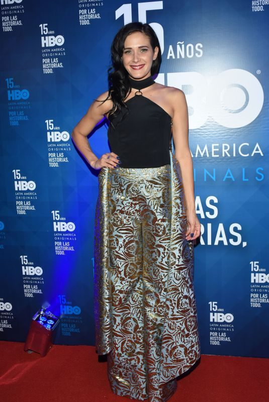 CAMILA SELSER at HBO Latin America 15th Anniversary in Mexico City 07/18/2018