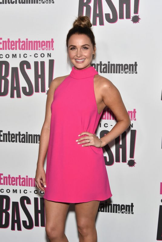 CAMILLA LUDDINGTON at Entertainment Weekly Party at Comic-con in San Diego 07/21/2018