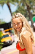 CAMILLE KOSTEK Out in Miami Beach 07/14/2018