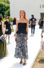 CAMILLE ROWE at Dior Fall/Winter 2018/2019 Haute Couture Show in Paris 07/02/2018