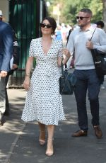 CANDICE BROWN and Liam Macaulay at Wimbledon Tennis Championships in London 07/13/2018