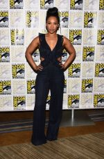CANDICE PATTON at The Flash Photocall at Comic-con in San Diego 07/21/2018