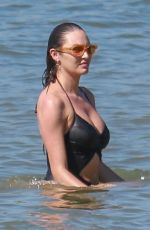 CANDICE SWANEPOEL in Swimsuit at a Beach in Vitoria 07/07/2018