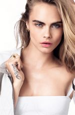 CARA DELEVINGNE for Dior Dreamskin Campaign, July 2018