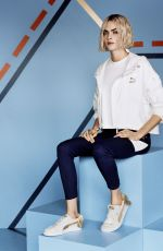 CARA DELEVINGNE for Puma Suede Bow Varsity Trainer Campaign 2018