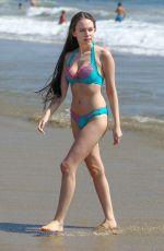 CARLA TEMPESTA in Bikini on the Beach 07/17/2018