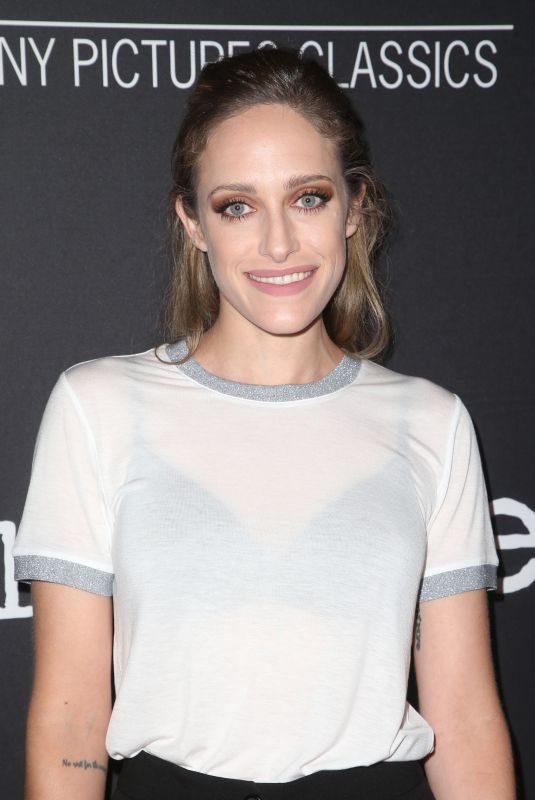 CARLY CHAIKIN at The Wife Premiere in Los Angeles 07/23/2018