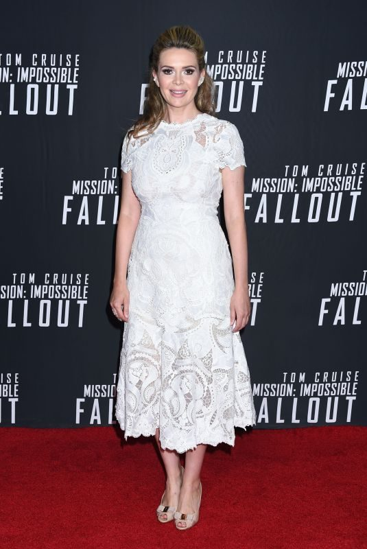 CARLY STEEL at Mission: Impossible – Fallout Premiere in Washington 07/22/2018