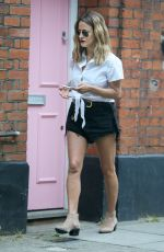 CAROLINE FLACK in Shorts Out in London 07/11/2018