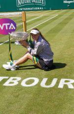 CAROLINE WOZNIACKI Wins Eastbourne Tournament in UK 06/30/2018