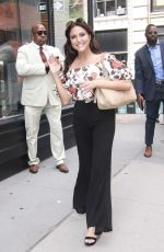 CASSIE SCERBO Arrives at Build Series in New York 07/27/2018