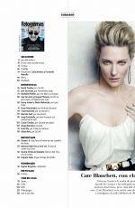 CATE BLANCHETT in Fotogramas Magazine, July 2018