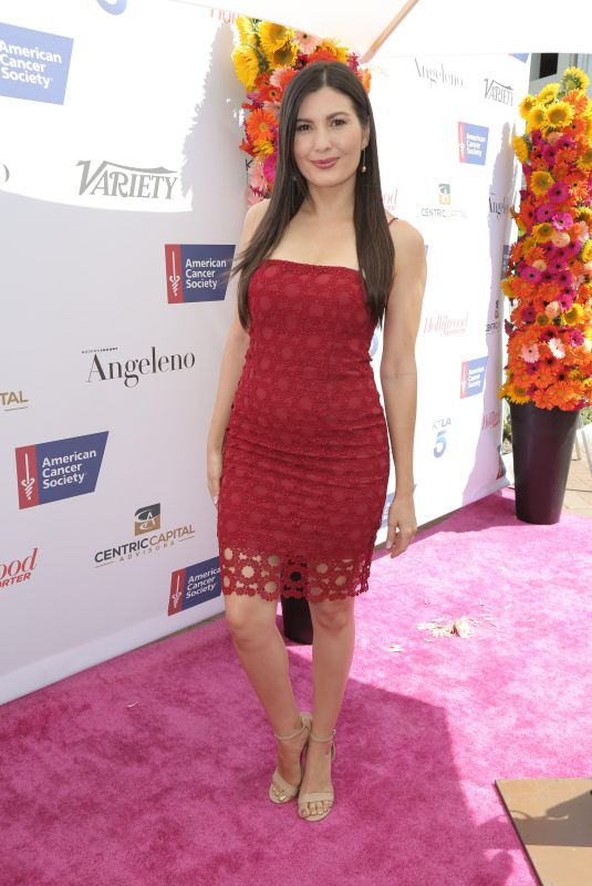 CELESTE THORSON at American Cancer Society's California Spirit 33 Gourmet Garden Party in Culver City 07/15/2018