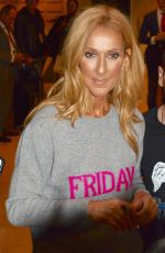 CELINE DION Night Out in Sydney 07/27/2018