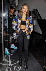 CHANTEL JEFFRIES at Catch LA in West Hollywood 07/12/2018