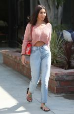 CHANTEL JEFFRIES Leaves a Salon in West Hollywood 07/18/2018