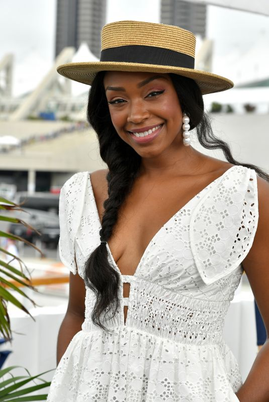 CHANTEL RILEY at Variety Studios at Comic-con 2018 in San Diego 07/20/2018