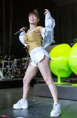 CHARLI XCX Performs at Summerfest Music Festival in Milwaukee 07/06/2018