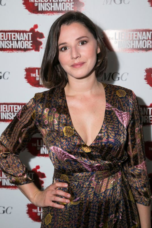 CHARLIE MURPHY at The Lieutenant of Inishmore Play Press Night in London 07/04/2018