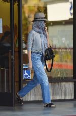 CHARLIZE THERON Leaves a Nail Salon in Studio City 07/27/2018