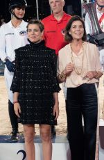 CHARLOTTE CASIRAGHI at 13th Monte Carlo International Jumping 06/29/2018