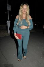 CHARLOTTE CROSBY and OLIVIA ATTWOOD Night Out in Manchester 07/07/2018