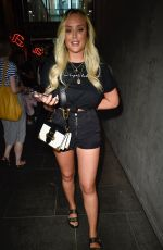 CHARLOTTE CROSBY Out and About in Manchester 07/24/2018