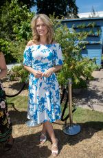 CHARLOTTE HAWKINS at Hampton Court Flower Show 07/02/2018