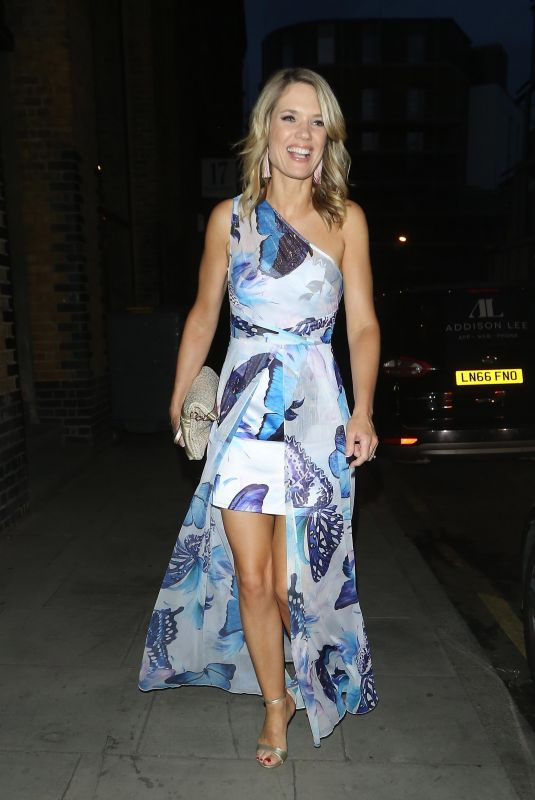 CHARLOTTE HAWKINS at ITV Summer Party in London 07/19/2018