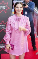 CHARLOTTE RILEY at Swimming with Men Premiere at 72nd Edinburgh International Film Festival 07/01/2018